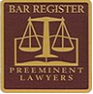 Bar Register Preminent Lawyers Logo